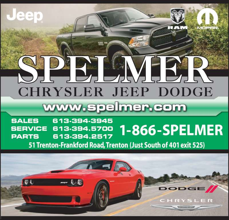 East Hills Chrysler Jeep Dodge Ram Srt: Spelmer Chrysler Jeep Dodge
