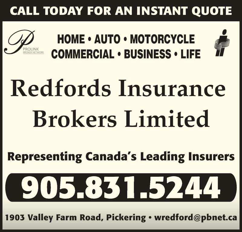 Redfords Insurance Brokers Limited