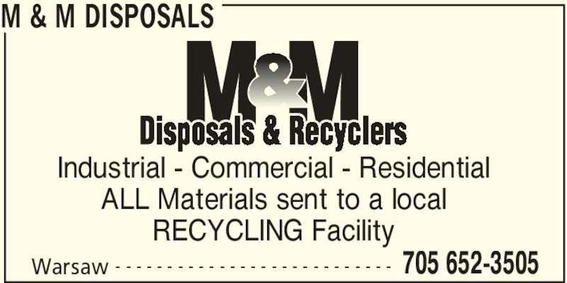 Ads M&M Disposals