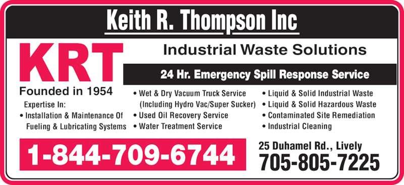 Ads Keith R Thompson Inc