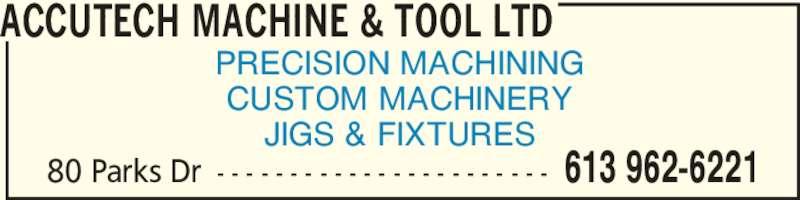 accutech machine