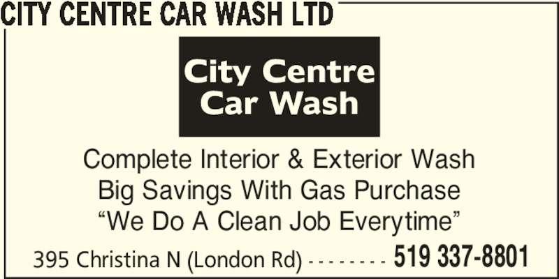 city centre car wash ltd opening hours 395 christina st n sarnia on. Black Bedroom Furniture Sets. Home Design Ideas