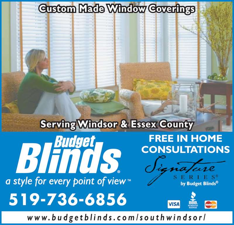 Budget Blinds Opening Hours