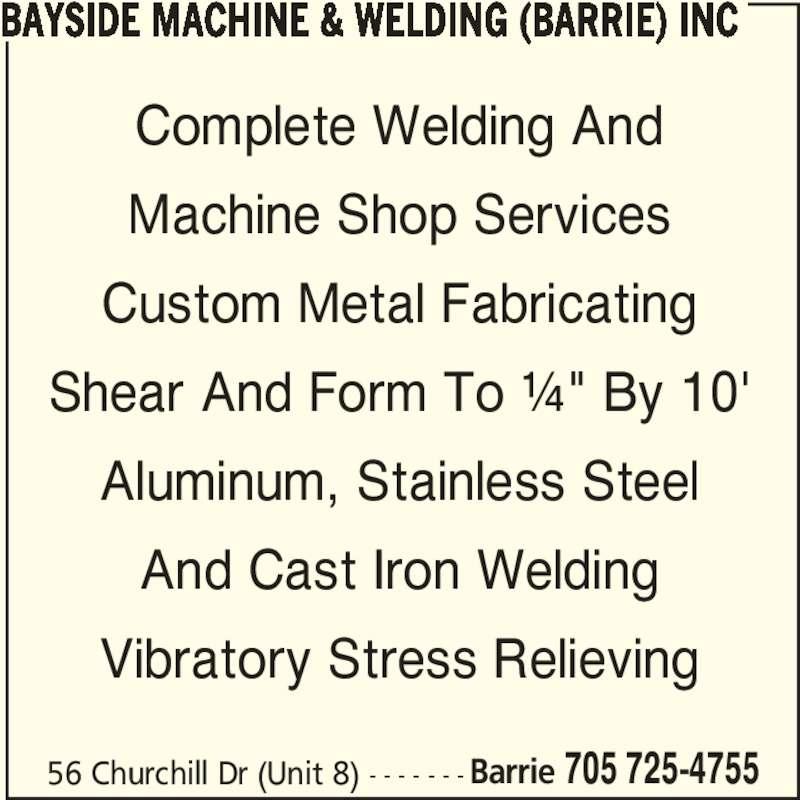 bayside machine