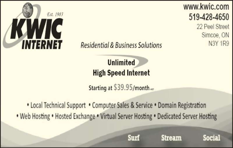KWIC Internet (519-428-4650) - Display Ad -