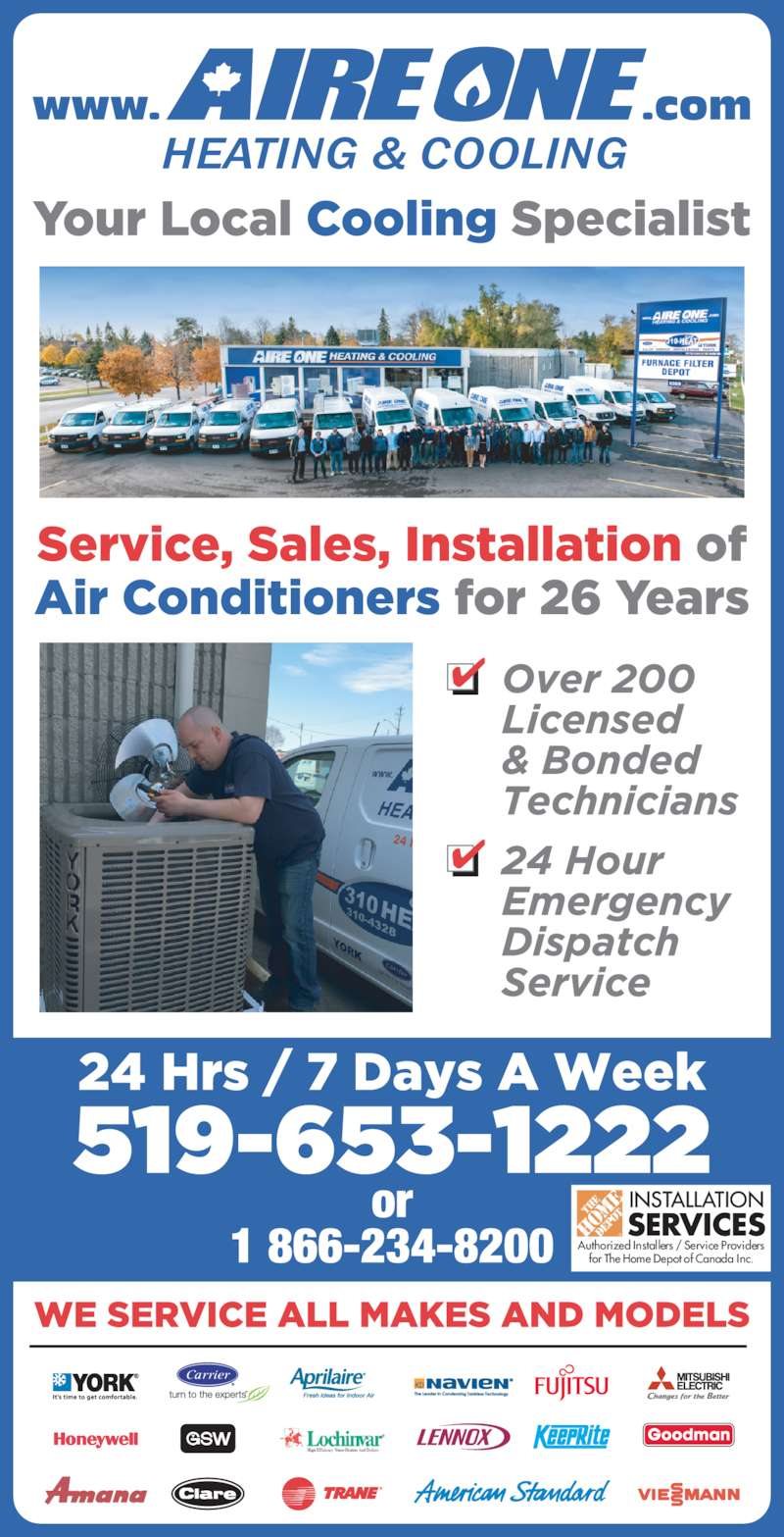 Aire One Heating Amp Cooling Opening Hours 1069 Victoria