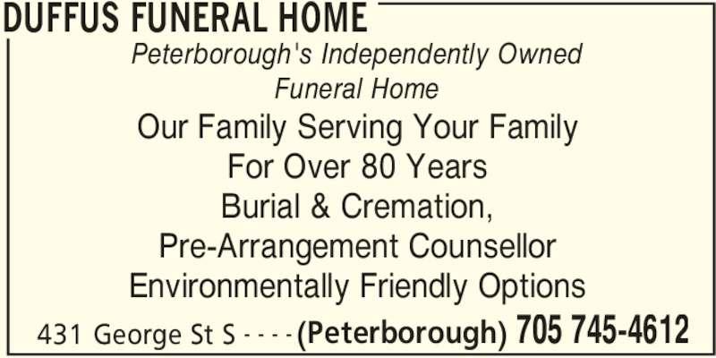 Duffus Funeral Home