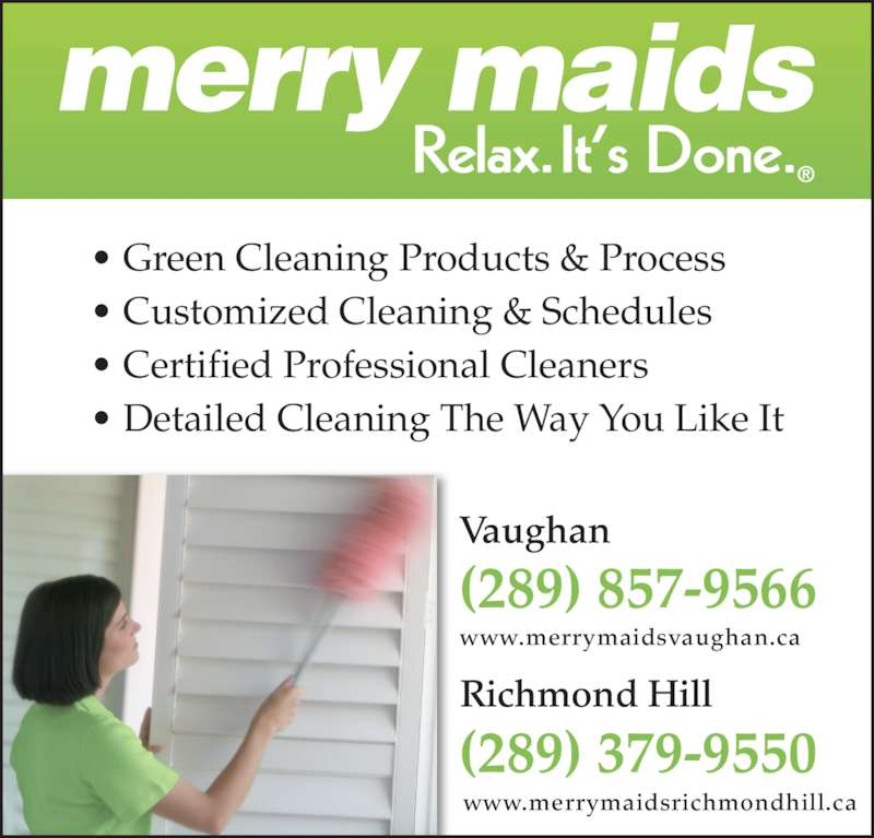merry maids cleaning service
