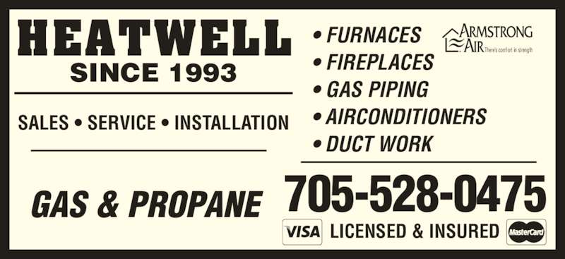 Heatwell Opening Hours 88 Mcarthur Dr Penetanguishene On