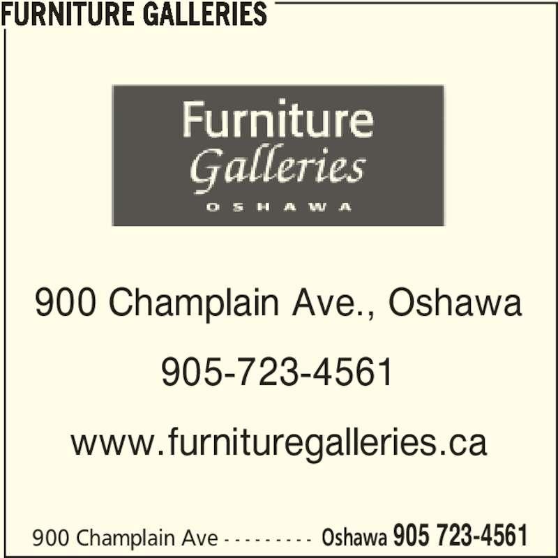 Furniture Galleries (905-723-4561) - Annonce illustrée======= -