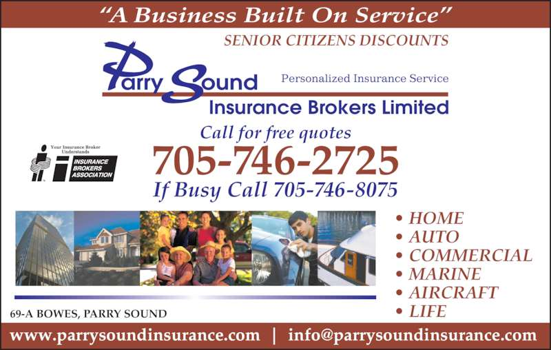 Parry Sound Insurance Brokers Ltd