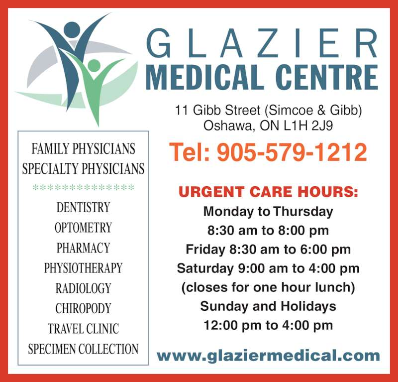 Glazier Clinic Urgent Care Hours