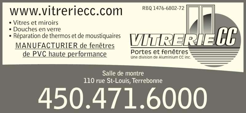 Vitrerie cc terrebonne qc 110 rue saint louis for Porte fenetre futura laval