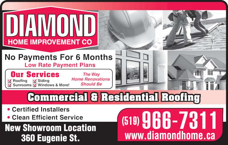 Diamond Home Improvement Opening Hours 360 Eugenie St