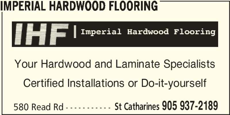Imperial Hardwood Flooring Opening Hours 580 Read Rd