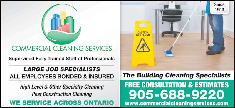 Commercial Cleaning Services - 151 Cushman Rd, St ...