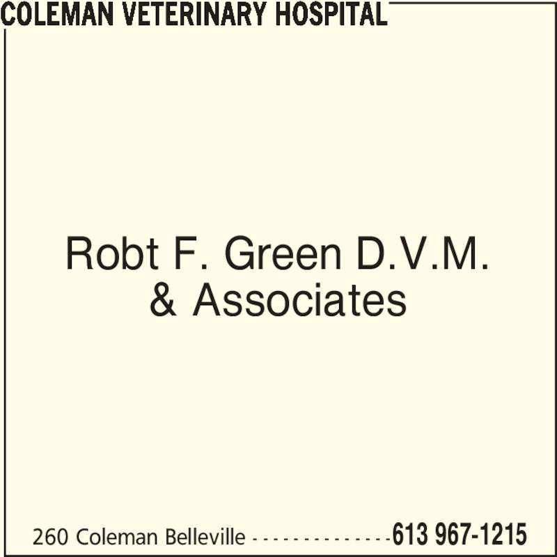 Ads Coleman Veterinary Hospital