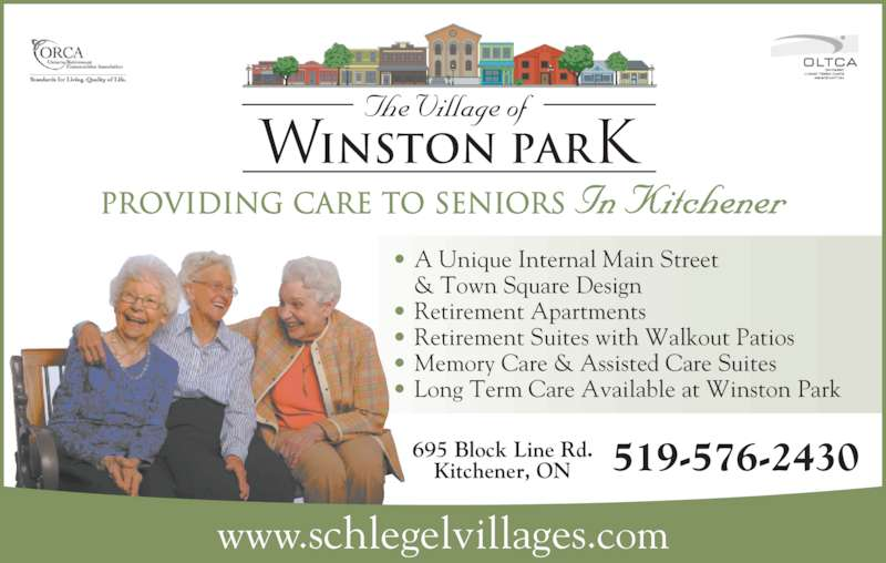Winston Retirement Home Kitchener
