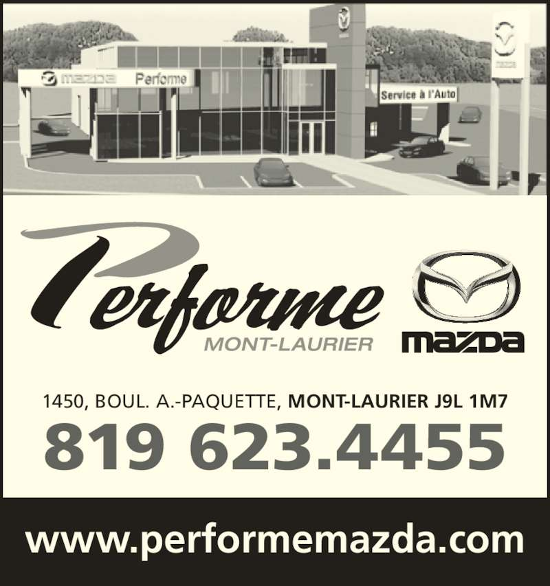 Mont Laurier (QC) Canada  city photo : Performe Mazda Mont Laurier, QC 1450 boulevard Albiny Paquette ...