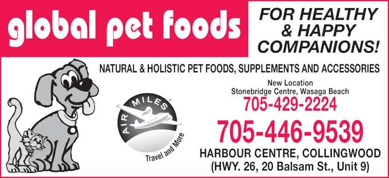 Global Pet Foods Hours Danforth