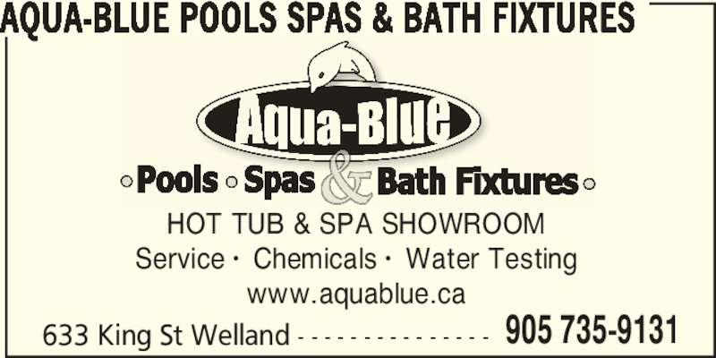 Aqua Blue Pools Spas Amp Bath Fixtures Welland On 633