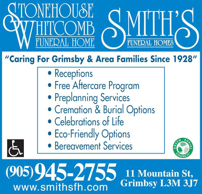 Funeral Homes Grimsby Ontario