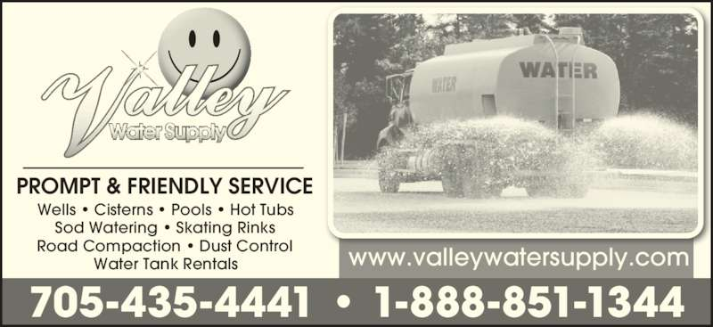 Ads Valley Water Supply