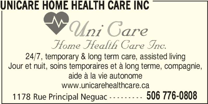Unicare Home Health Care Neguac