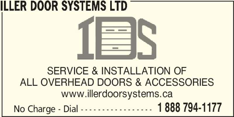 Iller Door Systems Ltd Opening Hours 159 Truro Heights