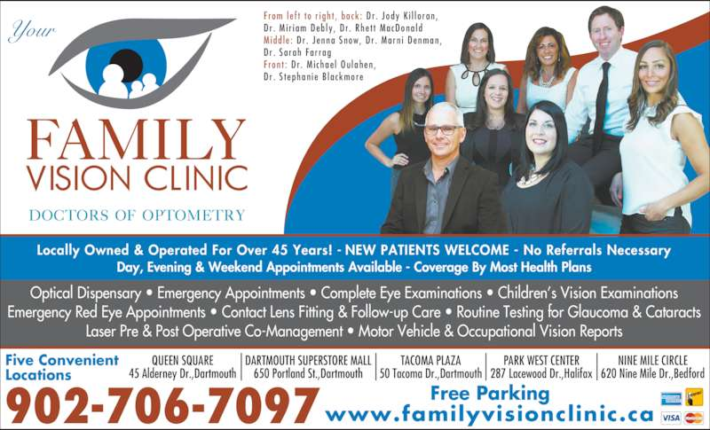 Family Vision Clinic - Tacoma Plaza Canpages