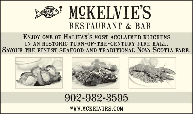 McKelvie's Delishes Fishes Dishes (902-421-6161) - Annonce illustrée======= -