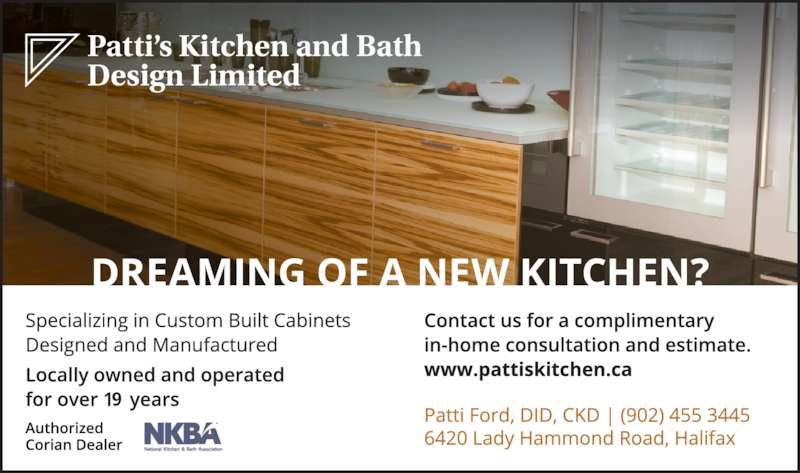 Patti 39 S Kitchen And Bath Design Ltd 6420 Lady Hammond Rd Halifax Ns