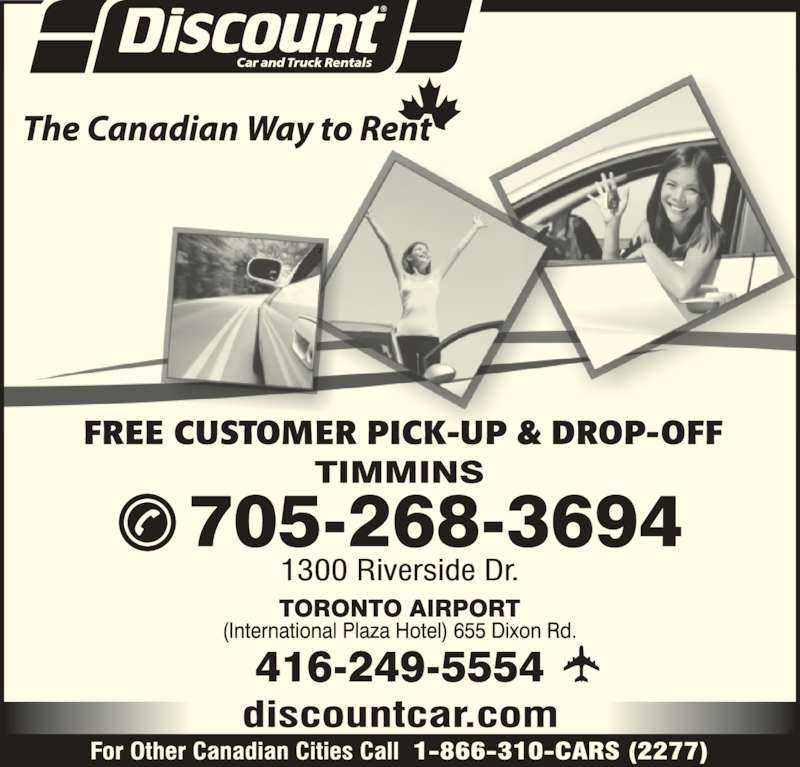 Discount Car Truck Rentals Timmins On