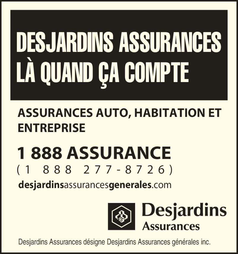 Desjardins incorporated wikipedia address