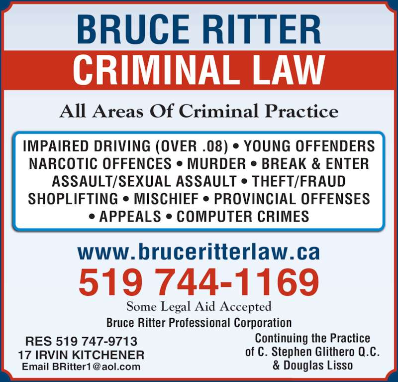 Legal Aid Services Kitchener