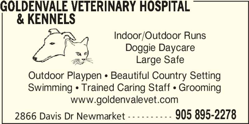 Goldenvale veterinary hospital kennels opening hours Uxbridge swimming pool opening times