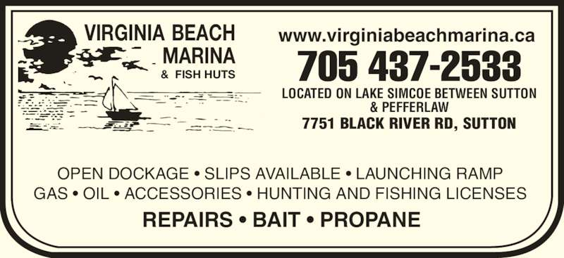 Virginia beach marina fish huts sutton west on 7751 for Virginia fishing license online