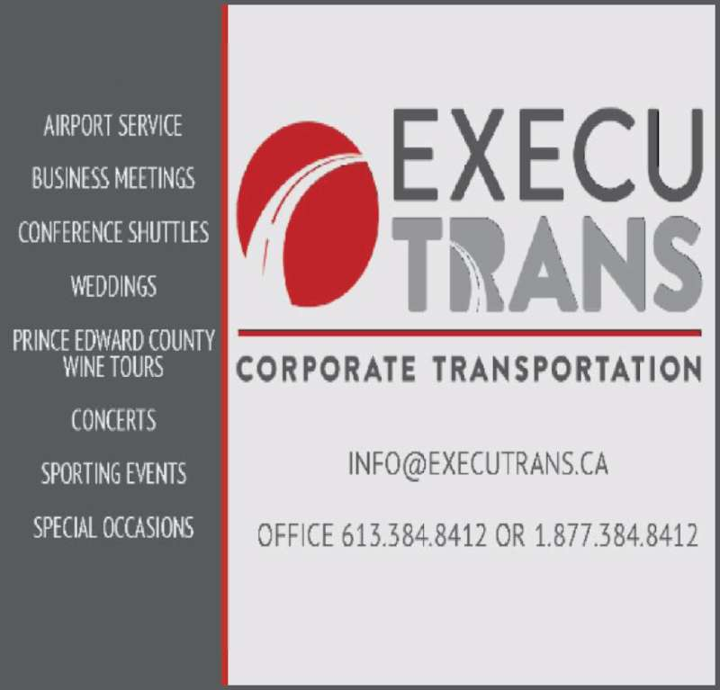 ExecuTrans Corporate Transportation Specialistes (613-384-8412) - Display Ad -