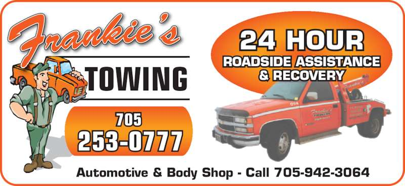 Frankie 39 s towing sault ste marie on 978b second line for 24 hour tanning salon near me