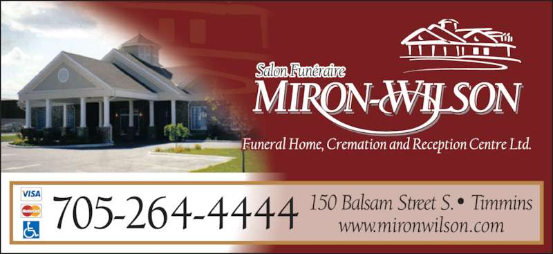 Miron Funeral Home Timmins