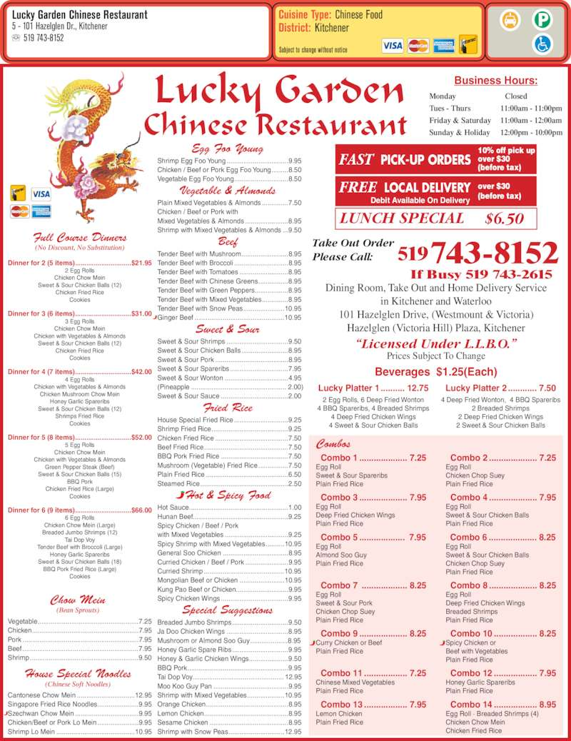 Chinese Food Kitchener Open Late
