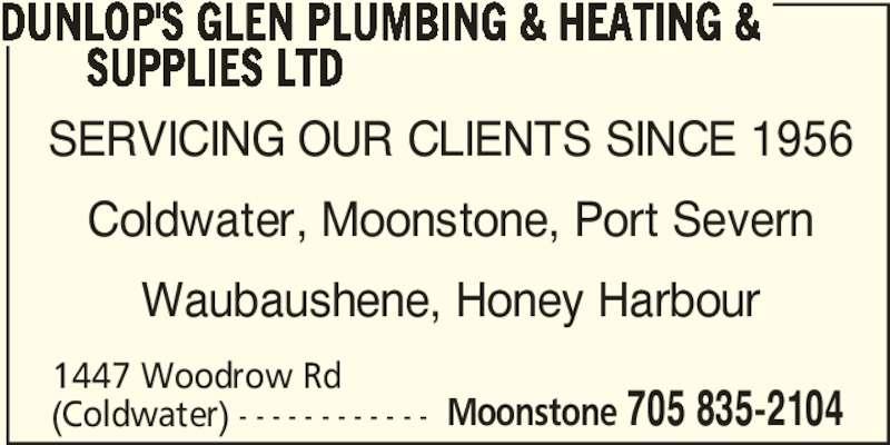 Dunlop S Glen Plumbing Amp Heating Amp Supplies Ltd Opening