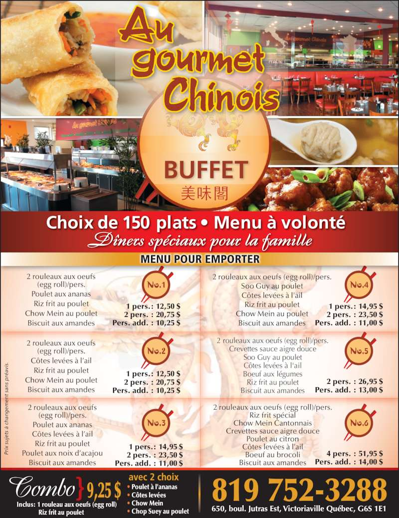 Restaurant A Quebec Avec Buffet  Ef Bf Bd Volont Ef Bf Bd