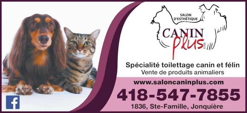 Salon esth tique canin plus enr jonqui re qc 1836 for Salon de toilettage montreal