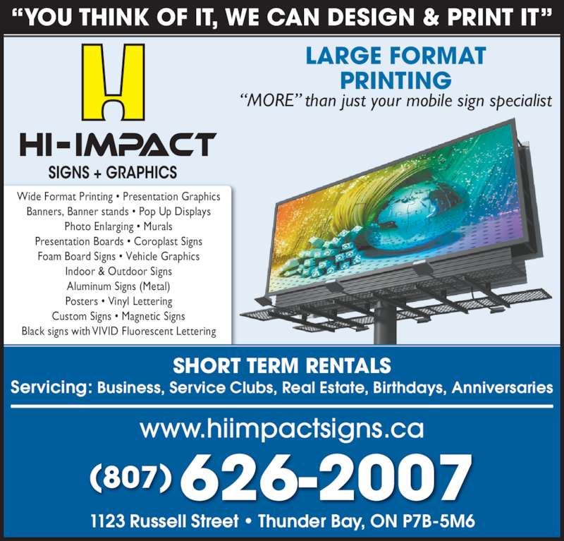 Hiimpact Signs  Thunder Bay, On  1123 Russell St  Canpages. Spinal Cord Signs. Colored Signs. Tsunami Signs Of Stroke. Traveler Signs Of Stroke. Really Signs. Hazzard Signs. Diabetic Nerve Signs. Ufo Signs