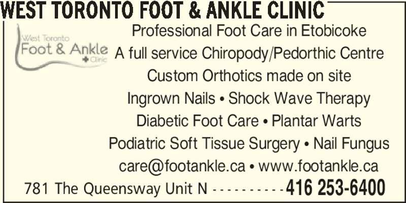 Orthopedic Shoes Store Etobicoke