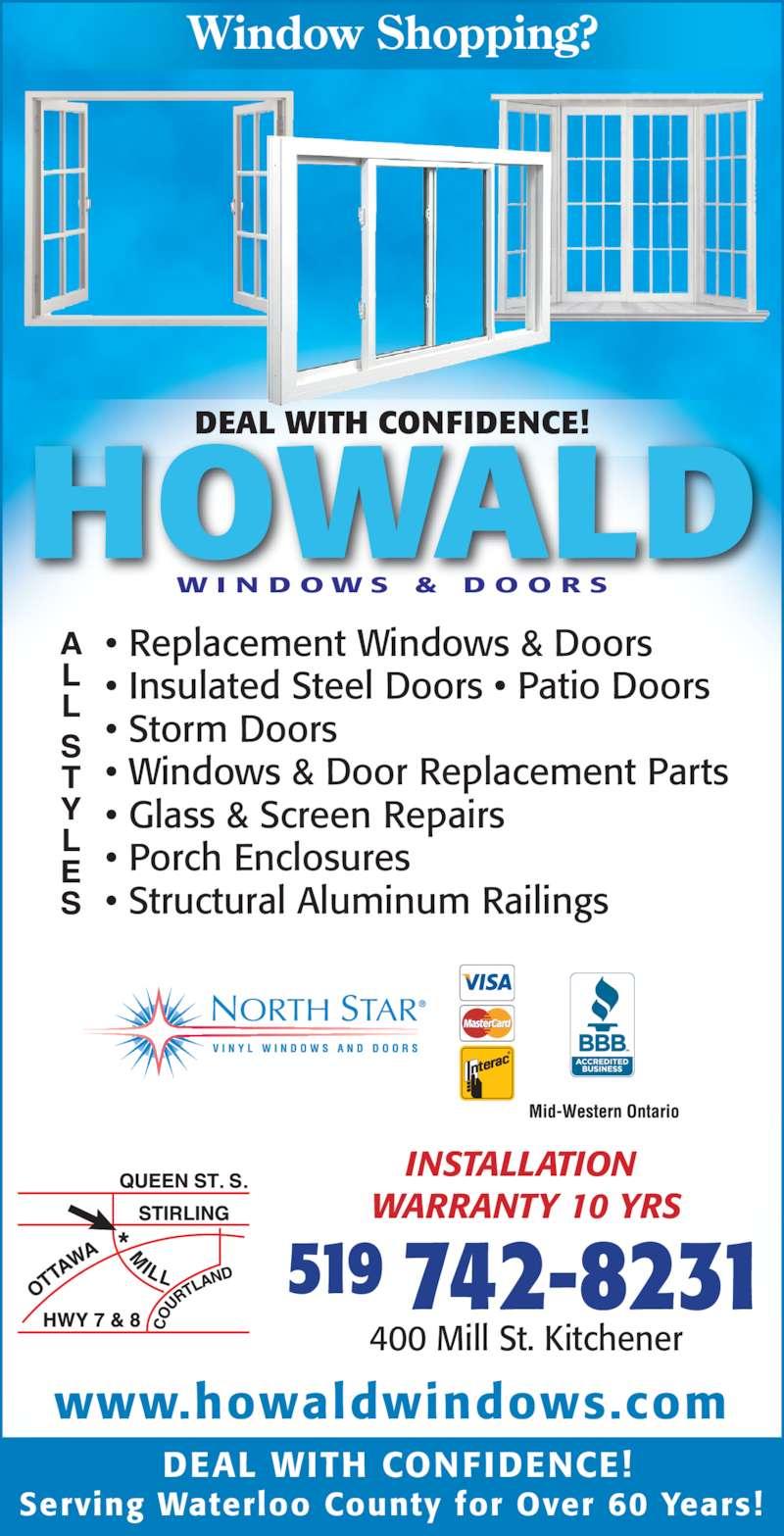 Howald Windows And Doors Kitchener