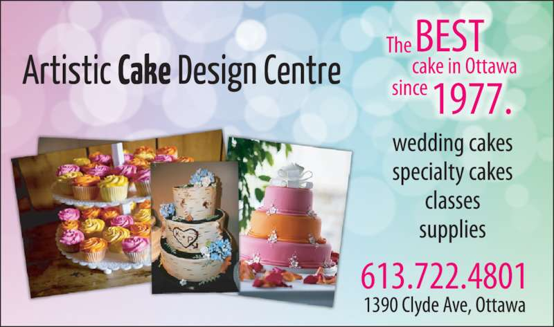 Cake Decorating Excel Centre : Artistic Cake Design Centre - Nepean, ON - 1390 Clyde Ave ...