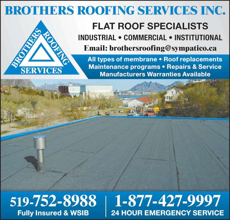 Brothers Roofing Services 93 Kent Rd Brantford On