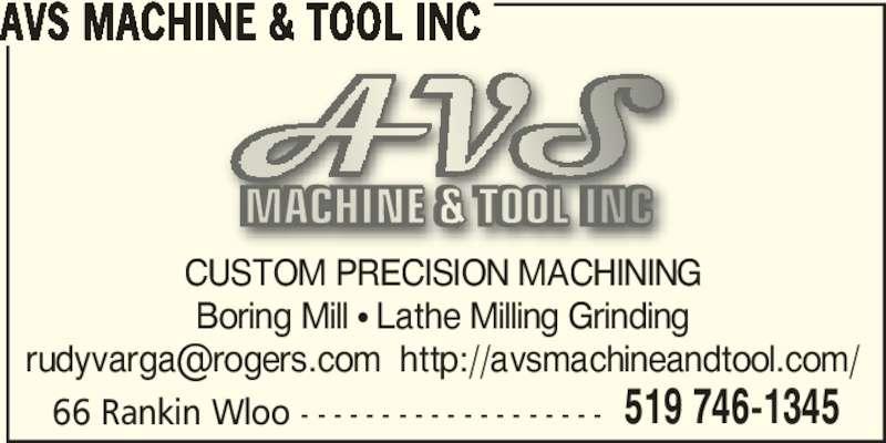 Ads Avs Machine & Tool Inc